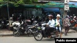 Мотосиклсаворӣ дар Индонезӣ