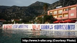 "Protest protiv projekta ""Gornji horizonti"""