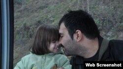 Согейл Арабі з донькою