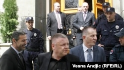 Predstavnici kosovskih Srba nakon sastanka u Vladi Srbije, 30. april 2013.