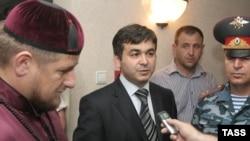 Президент Чечни Рамзан Кадыров встретился с и.о. президента Ингушетии Рашидом Гайсановым