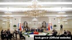 Trilateralni sastanak u Ankari, 15. maj 2013.