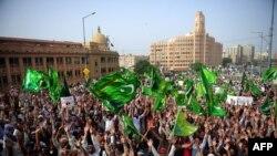 Демонстрации в Карачи против антиисламского фильма