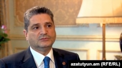 Armenian Prime Minister Tigran Sarkisian (file photo)