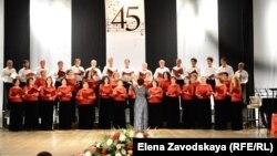 На концерте было исполнено много замечательных хоровых произведений: от высокой музыкальной классики и абхазских духовных и народных песнопений до популярных и любимых широкой публикой народных русских и абхазских песен