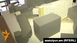Պուշկին, Նալբանդյան, Աբովյան փողոցների միջանկյալ հատվածի կառուցապատման մանրակերտը: