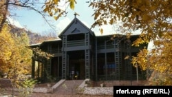 The Ziarat residency before the attack...