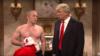 Saturday Night Live тамашасында АКШның киләчәк президенты итеп сайланган Дональд Трампның Русия президенты Владимир Путин белән очрашуын сурәтләүче мәзәк күренеш