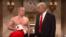 SNL satirik televerilişindən Donald Trump və Vladimir Putini təsvir edən kadr.