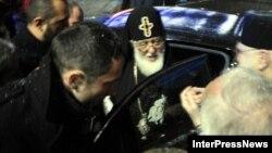 Патриарх Грузии Илия вернулся из Москвы