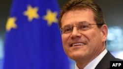 Вице-председатель Еврокомиссии Марош Шефчович