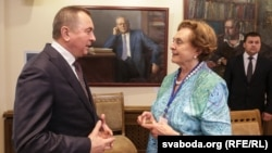 Уладзімер Макей і Пас Дамейка