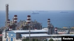 A general view shows a unit of South Pars Gas field in Asalouyeh Seaport, north of Persian Gulf. File photo