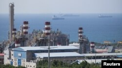 A unit of Iran's South Pars gas field