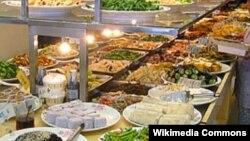 Vegetarian buddist restoranı