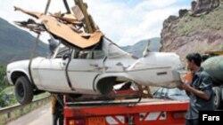 خسارات مالی حوادث رانندگی در ایران سالانه بیش از هفت هزار میلیارد تومان است.