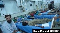 Повредени луѓе од земјотресот во Пакистан