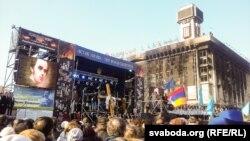 Шаўчэнкаўскае веча на Майдане