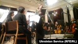 Луганский симфонический оркестр дал концерт в Киеве