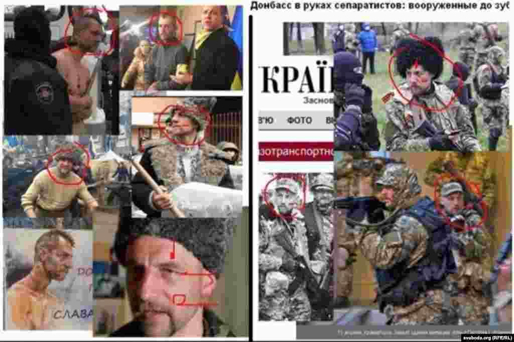Також в соціальних мережах поширюють інформацію про те, що нібито відомий козак із Єврамайдану Михайло Гаврилюк став сепаратистом і зараз воює на Донбасі