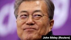 Presidenti jugkorena, Moon Jae-in, foto nga arkivi