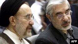 میرحسین موسوی و محمد خاتمی؛ مرداد ۸۸