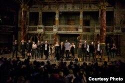 «Кароль Лір» Беларускага свабоднага тэатру на сцэне лёнданскага Shakespeare's Globe