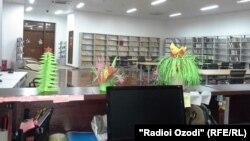 Гӯша барои нобиноён дар Китобхонаи миллии Тоҷикистон.