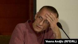 Nenad Dimitrijević na konferenciji u Beogradu, 21. septembar 2012.