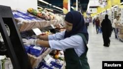 В супермаркетах Дубая.