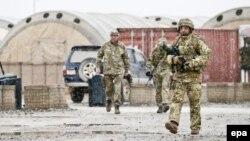 Британские солдаты в афганской провинции Гильменд