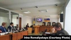 Київ, у суді заслуховують свідчення Юрія Ільїна в справі про держзраді Януковича, 19 квітня 2018 року