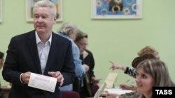 Sergej Sobjanjin na izborima