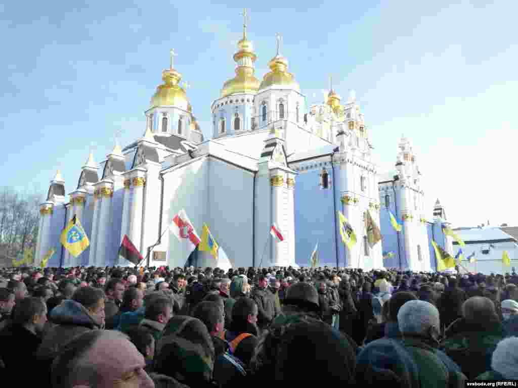 Прощання з Михайлом Жизневським у Києві