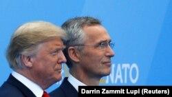 Доналд Тръмп и Йенс Столтенберг