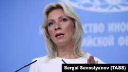 "Russian Foreign Ministry spokeswoman Maria Zakharova had accused the Greek government of participating in ""dirty provocations"" against Moscow, and promised a ""tit-for-tat"" response to the expulsions. (file photo)"