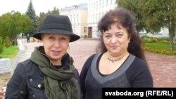 Тацяна Севярынец і Ірына Яскевіч