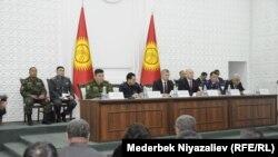 Координациялык кеңештин жыйыны. 16-январь, 2020-жыл