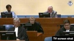 Ratko Mladić ovaj tjedan u sudnici