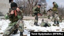 Кыргыз жоокерлери.