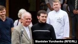 Юрій Солошенко і Геннадій Афанасьєв у Києві, 14 червня 2016 року