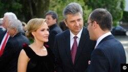 România - Florentin Pandele, primarul orașului Voluntari, alături de soția sa, Gabriela Firea