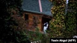 Percheziție a poliției turce în grădina consulatului Arabiei Saudite de la Istanbul, 17 octombrie 2018