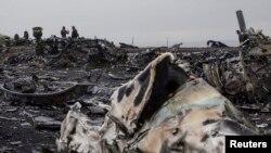 Ukrainë - vendi ku është rrëzuar fluturimi MH 17.