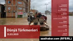 Tebigy heläkçilik: Türkmensähradaky güýçli sil we suw joşmalary