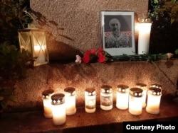 Свечи в память о Разине