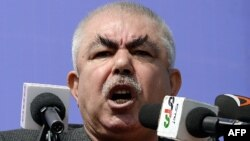 Первый вице-президентАфганистанаАбдул Рашид Дустум.