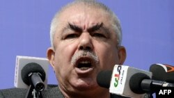 Afghan Vice-President Abdul Rashid Dostum (file photo)