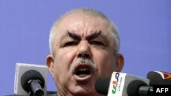 Afghan Vice President and former warlord Abdul Rashid Dostum (file photo)