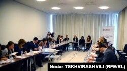 არასამთავრობო ორგანიზაციების კონფერენცია საარჩევნო კოდექსიის შესახებ. 2011 წლის 17 დეკემბერი